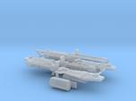 4x MS-07B-3 Gouf Custom Gatling Shield 1:400