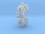 Turbo 102mm 1/25 W Parts