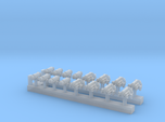 1:350 Scale USN Aircraft Nitrogen & Oxygen Carts