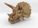 Triceratops Dinosaur Skull Pendant