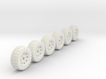 25mm diameter wheels for vehicle models x6