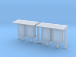 N Scale 2 Industrial Relay Cabinets