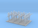 1/144 Custom Diorama Soldiers Marching X 12