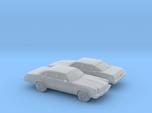 1/160 2X 1976/77 Chevrolet Chevelle Sedan