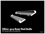 Simensays Hilux 4x4 Rear Bed Rails