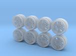 RPF1 9-0 Hot Wheels Rims