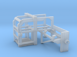 1/96 USN Depth Charge Thrower Rack Port