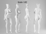 1:87 Sexy little girl in 2cm-006