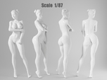 1:87 Sexy little girl in 2cm-009