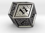 Hedron D12 (Hollow), balanced gaming die