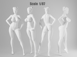 1:87 Sexy little girl in 2cm-012