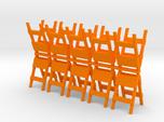Barricade 1-87 HO Scale (10)