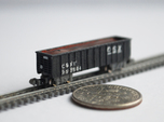 T Gauge 8 Hopper Car Set