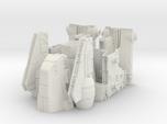 1/144 Imperial Assault Carrier (Gozanti, split)