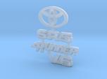 RCN070 Emblems for Toyota 4Runner PL