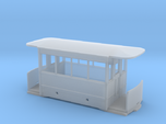 5.5mm Corris Tram Carriage Body