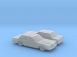 1/160 2X 1983 Lincoln Town Car