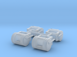 1/64th Mack R Model Round style tanks for 1st Gear