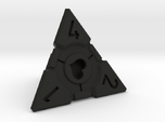 Companion Cube D4 - Portal Dice