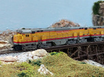 N Scale Alco C-855 Locomotive Shell Deluxe