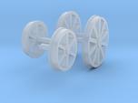 "OO Aveling Porter ""Blue Circle"" Wheels"