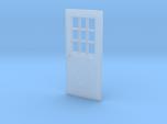 1:64 scale Exterior door with cross pattern