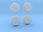 1:25 Buick Finned Drum Set