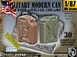 1/87 Modern Military FUEL+WATER Can Set003