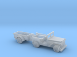 1/144 Scle MB Jeep With Trailer