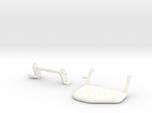 Moveable step rear bumper D90 D110