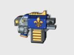 10x Fleur-De-Lis : Small Hand Blitz Pistols (L&R)