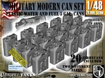 1/48 Military Fuel+Water Can Set401