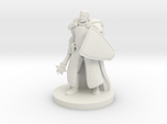 Sun Cleric with a Mace and Shield