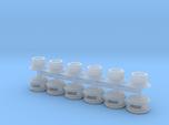Steam Generator Vents (N - 1:160) 6X