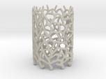 Coraline S. Tealight White Sandstone