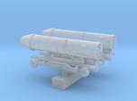 1:144 Scale F100 Jet Engine on Maintenance Carts