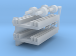Eaglemoss delorean 1:8 rectifier heatsinks
