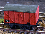 GWR - Mink A - Covered goods wagon Z 1:220