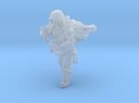 Grunge Trooper Running