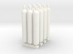 1:87 Gas Cylinders Pack of twelve