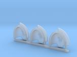 Space Vikings XI brotherhood Aggressive pads x3 L