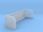 HO 1/87 backhoe snow pusher / box blade