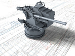 1/48 6-pdr (57mm)/7cwt QF MKIIA Fore (MTB)