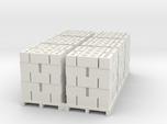 Pallet Of Cinder Blocks Hollow 5 High 6 Pack 1-87