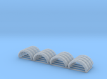 Set of 16 - #A Wheel flares/Arches 1mm x12mm