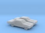 1/160 2X 1967 Pontiac GTO