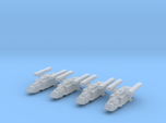 1/1000 Scale Scampers M.E.S.H. x4