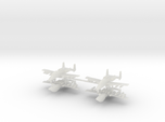 1/700 Two-Seater A-10 Thunderbolt II (Armed) (x4)