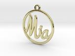 Mia First Name Pendant