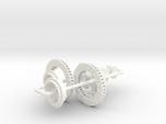 1/8 Modern 11.6 Inch Diam 4 Piston Disk Brake Setu